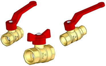 Кран шаровой латунный Стандарт 22 (аналог 11Б27П1