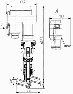 Клапан игольчатый 9с-5-4Э