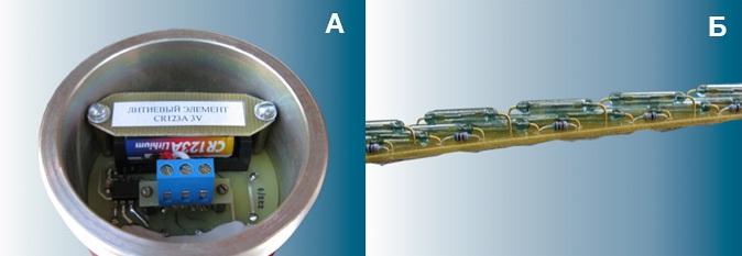 Герконовый датчик уровня воды