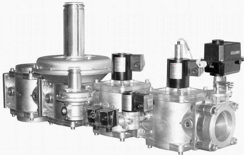 Блок газовых клапанов С2Н-2-08