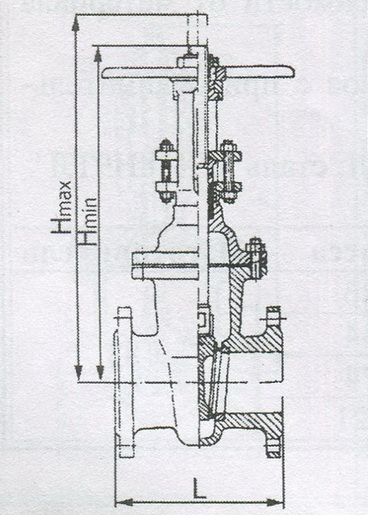 Задвижка клиновая зкл2 (nn) dn 80 pn1,6 запрос счета