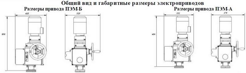Электропривод ПЭМ-В35