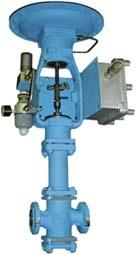 Клапан регулирующий сильфонный, с пневмоприводом МИМ 250-211-143041
