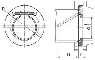 вентиль запорный обратный клапан