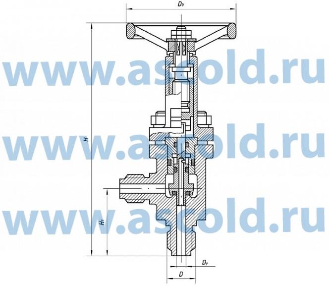 Клапан ВИЛН.491211.003-01