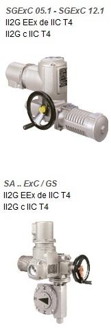 Электропривод SGEx 12.1