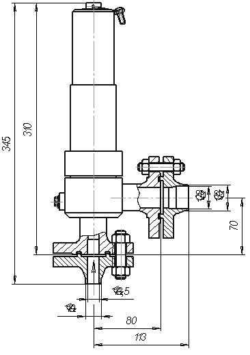 Клапан ЦКБ У96001