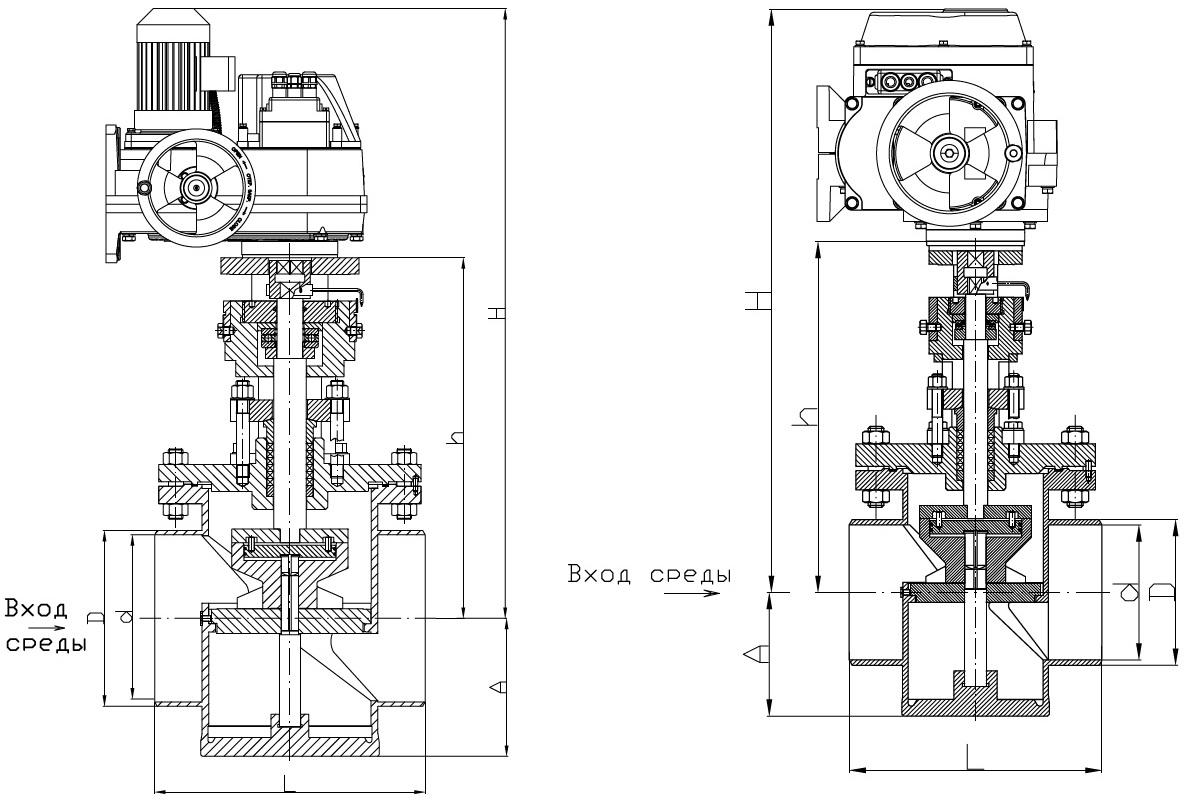 Клапан РК 101М.100.00-Э
