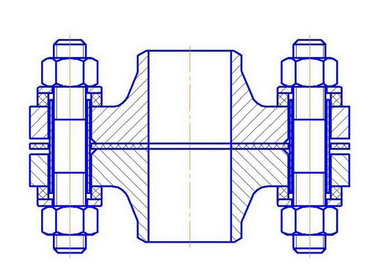 изолированные соединения фланцевые это соединения