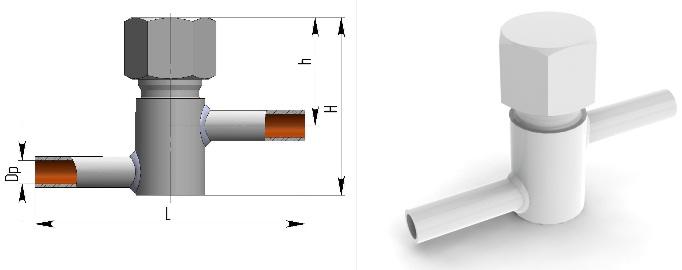 Клапан обратный 3с-6-1