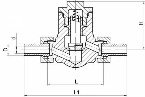 Клапан КПЛВ.492146.005-02