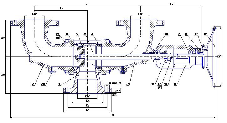 Переключающее устройство ПУ 100-63-01нж