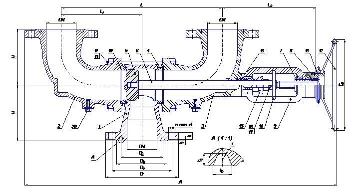 Переключающее устройство ПУ 80-16-03-02