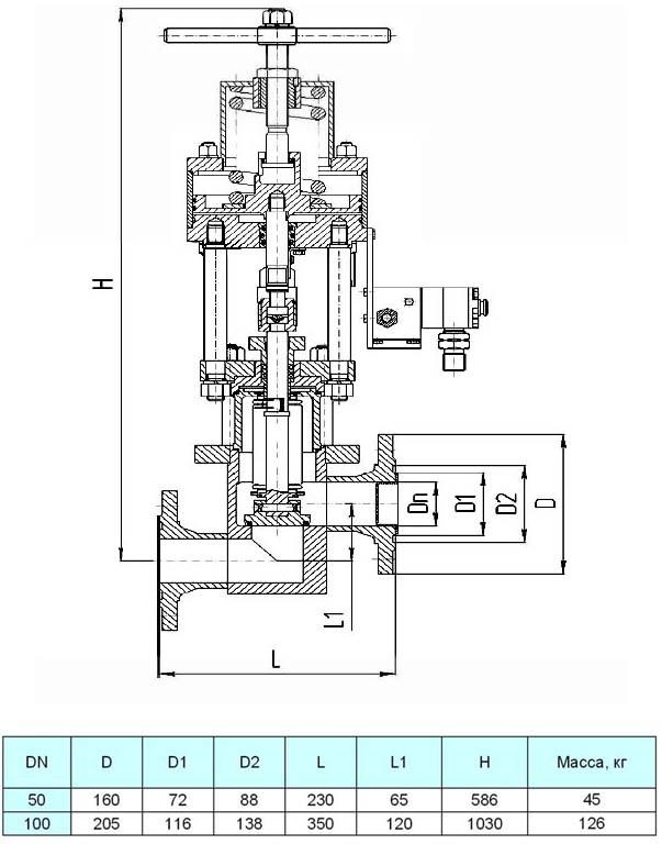 Клапан ЦКБ У96003