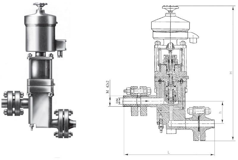 Клапан 15нж66п4