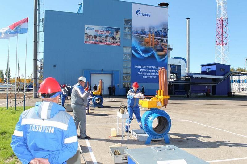 «Газпром» определил лучшего машиниста тех.оборудования ГРП - Изображение