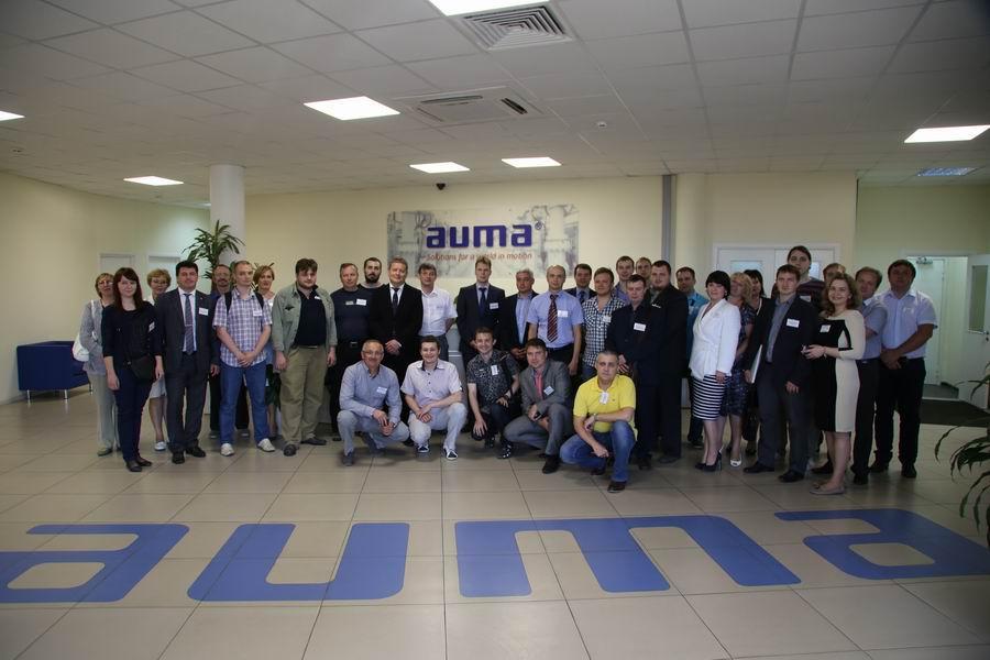 AUMA. Консультации специалистов по приводам и схемам - Изображение