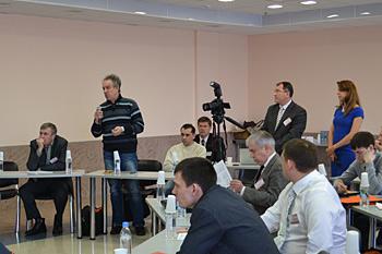 Видеорепортаж: Заседание дискуссионного клуба НПАА - Изображение
