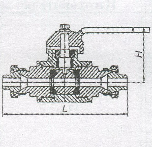 Кран шаровой КШО 40-80 РФХ