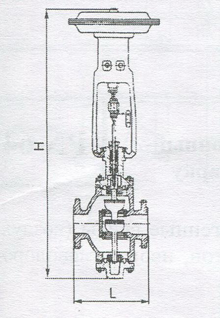 Клапан регулирующий, НЗ