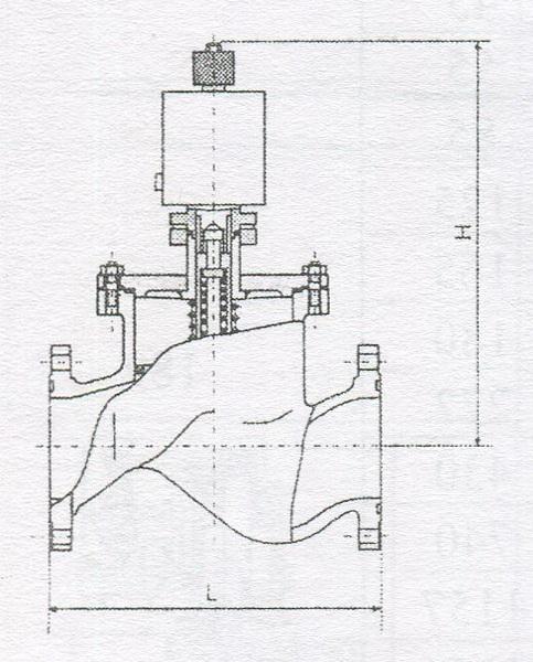 Клапан электромагнитный 22нж840бк