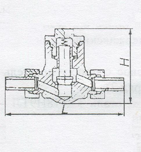 Клапан обратный КПЛВ.494316.001-04М