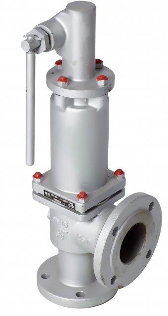 Клапан предохранительно-сбросной АЦТ-8-130-04 20-00-ПС стальной фланц. Ду25, на 4 отверстия