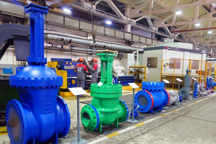 «Благовещенский арматурный завод» увеличил объём выпуска трубопроводной арматуры высокого давления