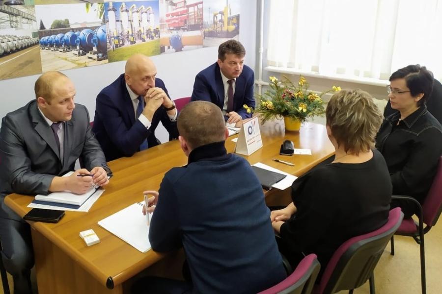 На НПО «Тяжпромарматура» обсудили повышение контроля качества трубопроводной арматуры
