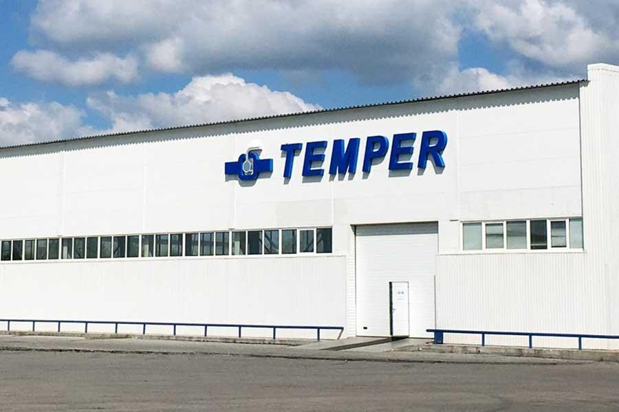 «Темпер» обновил строительную длину выпускаемых шаровых кранов