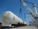Начались поставки крупногабаритного оборудования для комплекса «ЗапСибНефтехим»