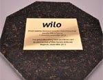 Заложен первый камень завода Wilo в России