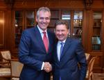 Председатель Правления OMV AG встретился Алексеем Миллером по вопросам Северного потока