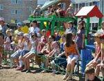 БАЗ профинансировал установку детской игровой площадки в г. Благовещенске
