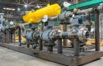 Специалисты «Курганхиммаша» продолжают производство блоков испарителей колонн регенерации метанола с теплообменниками
