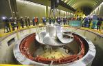 На Верхне-Туломской ГЭС ПАО «ТГК-1» установлено новое рабочее колесо
