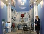 ЛГ Автоматика представила функционирующие образцы клапанов на выставке Нефтегаз - 2017
