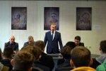 Директор ВМЗ встретился с первокурсниками кафедры «Технология машиностроения» ВГТУ