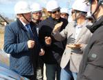 На строящейся Ленинградской АЭС побывали парламентарии Египта