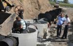 В Воронежской области ремонтируют гидротехническое сооружение на пруду Холодный колодец средний