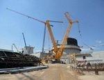 На строительстве БелАЭС смонтировано 60% арматуры и уложен 51% бетона
