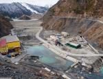 На Зарамагской ГЭС-1 приступили к строительству здания гидроэлектростанции