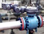 ПТПА успешно провела на полигоне «Саратоворгдиагностика» ресурсные испытания крана шарового запорно-регулирующего ПТ60170 DN 200мм PN 16,0 МПа на газовые среды