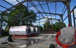 Губернатор Хабаровского края проверил ход возведения газовых котельных