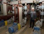Ростовская АЭС: в машзале строящегося энергоблока №4 смонтированы электронасосы для подачи воды на воздухоохладители ГЦН