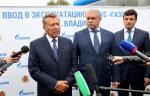 Современная автомобильная газозаправочная станция «Газпрома» введена в эксплуатацию в г. Владимире