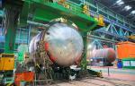 «АЭМ-технологии» выполняет сварку нижнего полукорпуса реактора для энергоблока № 2 АЭС «Руппур»