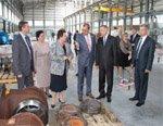 Завод «Гусар» посетил полномочный представитель Президента России