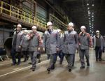 Выксунской металлургический завод посетило руководство Нижегородской области