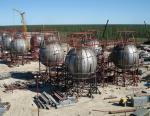 «Уралхиммаш» изготовит 20 шаровых резервуаров для Иркутской нефтяной компании
